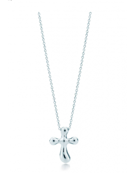 Tiffany Elsa Peretti Cross Pendant Necklace Girl Fine Jewelry USA Online Shopping 33279175