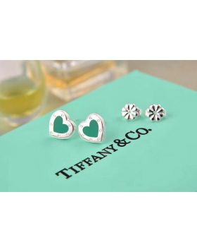 Return To Tiffany Replica Love Heart Earrings With Blue Enamel Price In Singapore Girls 60994862