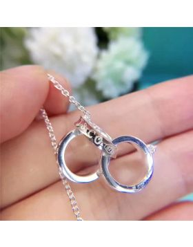 High-quality Tiffany 1837 Three Circles Pendant Necklace Unique Style Women Gift Canada Price