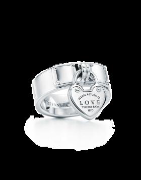 Return To Tiffany Replica Love Lock Ring Sterling Silver Top Seller USA Sale GRP08941