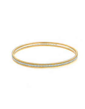Tiffany Schlumberger Rope Three-row Bangle Diamonds Latest Design Birthday Gift