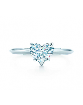 Tiffany Heart-shaped Crystal Ring Stylish Style Best Gift For Bride On Sale NYC