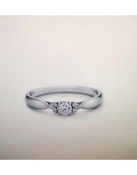 Tiffany Harmony Narrow Diamonds Setting Ring Wedding Gift For Lady Sale Online GRP07688