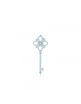 Top Sale Replica Tiffany Keys Floret Key Pendant Necklace Diamonds Jewelry Women Gift