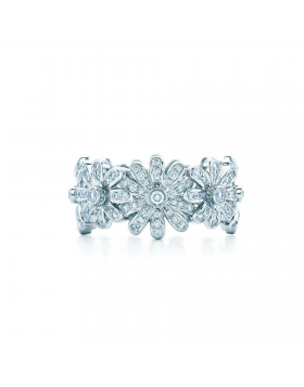 Replica Tiffany & Co. Schlumberger Daisy Diamonds Ring Girls Gifts NYC Sale Fashion Jewelry GRP06413