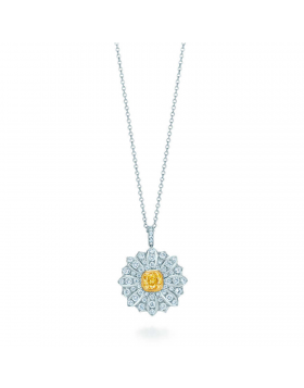 Tiffany & Co. Schlumberger Daisy Necklace New Arrival America Girls Gift Fine Jewelry
